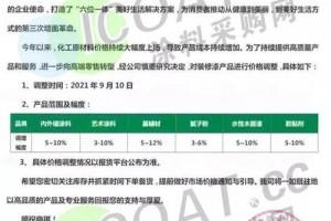 大涨25%三棵树立邦巴德士十几家涂料厂集体涨价